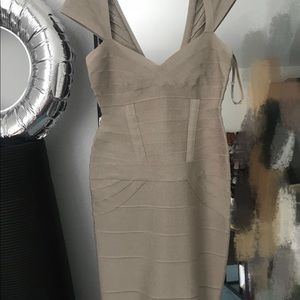 Herve Leger bandage dress (size: s)